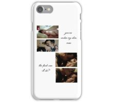 gallavich iPhone Case/Skin