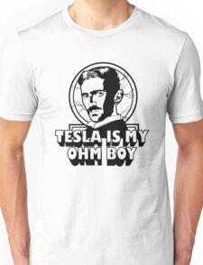 Tesla Is My Ohm Boy Unisex T-Shirt