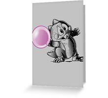 BUBBLING Greeting Card