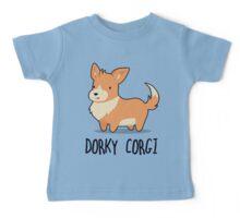 Dorky Corgi Baby Tee