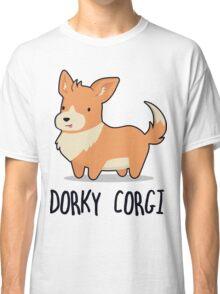 Dorky Corgi Classic T-Shirt