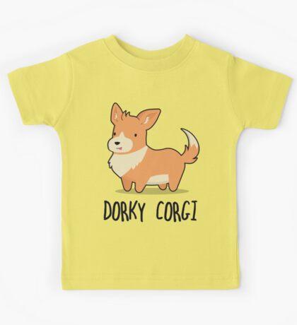 Dorky Corgi Kids Tee
