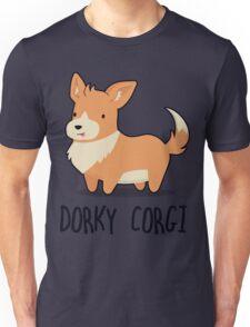 Dorky Corgi Unisex T-Shirt