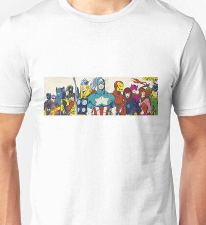 marvel superheroes avengers Unisex T-Shirt