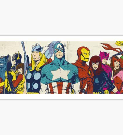 marvel superheroes avengers Sticker