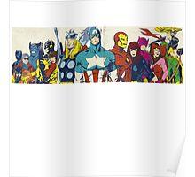 marvel superheroes avengers Poster