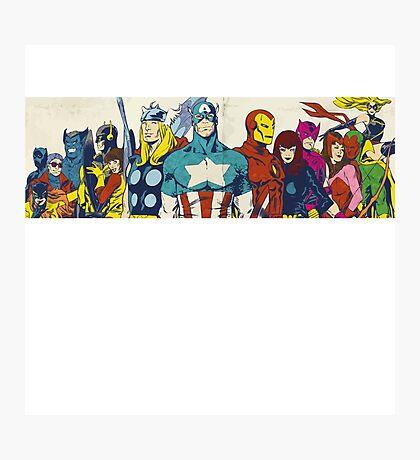 marvel superheroes avengers Photographic Print