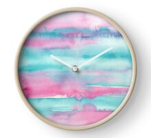 Turquoise Dreams Clock
