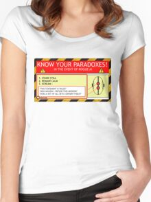 KNOW YOUR PARADOXES Women's Fitted Scoop T-Shirt
