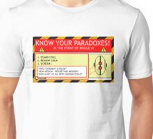KNOW YOUR PARADOXES Unisex T-Shirt