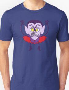 Scary Halloween Dracula Emoticon T-Shirt