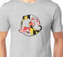 Maryland Flag on Face Unisex T-Shirt