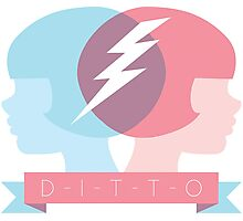 DITTO - Great minds think alike! Photographic Print