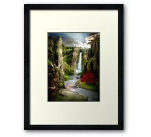 Shangri-La River Framed Print