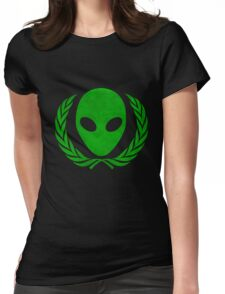 United alien Womens Fitted T-Shirt