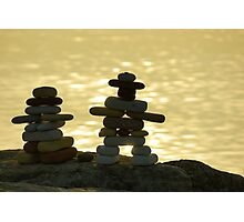 The Stone Couple Photographic Print