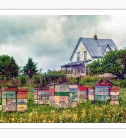 Farmhouse in Nova Scotia Sticker