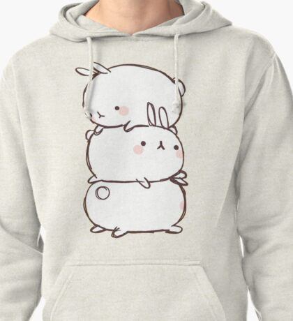 Bunny Pile Pullover Hoodie