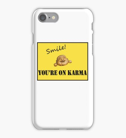 Smile Buddha iPhone Case/Skin