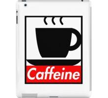 Caffeine coffee cup obey poster (I love coffee) iPad Case/Skin
