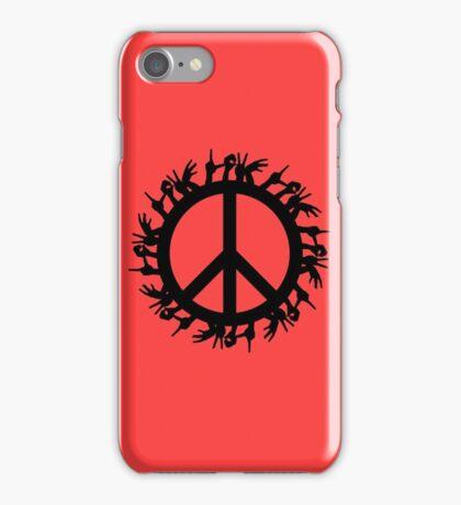 peace love iPhone Case/Skin