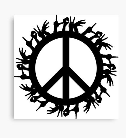 peace love Canvas Print