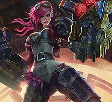 Vi League of Legends by gleviosah