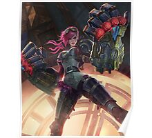 Vi League of Legends Poster
