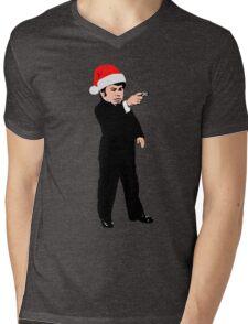 Nick Nack Christmas Edition Mens V-Neck T-Shirt