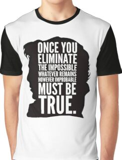 sherlock impossible Graphic T-Shirt
