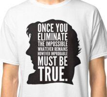 sherlock impossible Classic T-Shirt