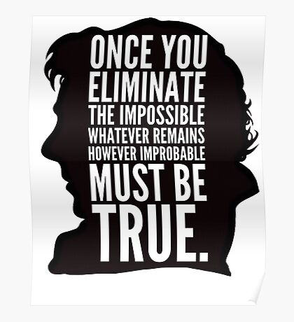 sherlock impossible Poster