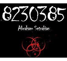 Abraham Setrakian - The Strain Photographic Print