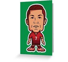 Cristiano Ronaldo, Portugal Greeting Card