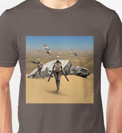 Sexy Sci-Fi 7 Unisex T-Shirt