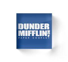 Dunder mifflin  Acrylic Block