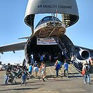 Belly Of A C-5 by Laura Puglia