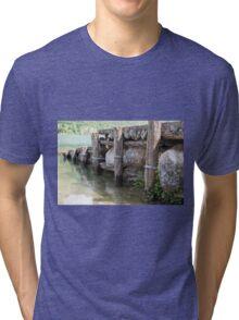 lake scape Tri-blend T-Shirt