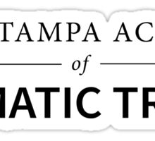 Royal Tampa Academy of Dramatic Tricks Sticker