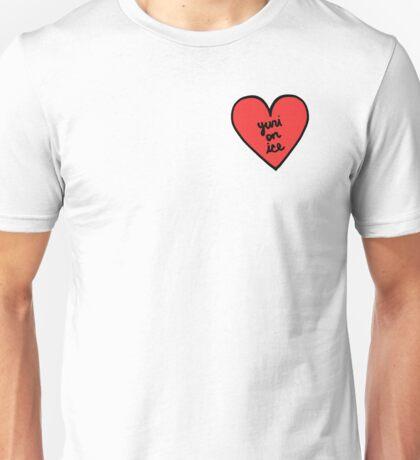 Yuri on Ice Heart Patch Unisex T-Shirt