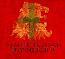 Thrones Christmas: Lannisters Spend More by Alice Edwards