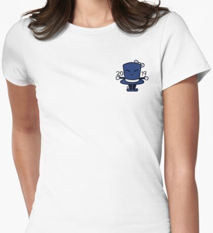 Tippy the Top Hat '19 Womens Fitted T-Shirt