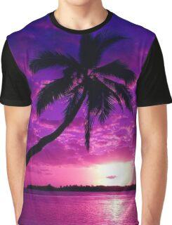 sunset 海の夕日 Graphic T-Shirt