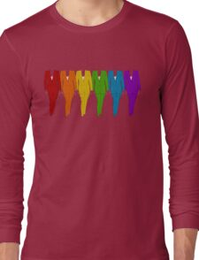Rainbow of Pantsuits Long Sleeve T-Shirt