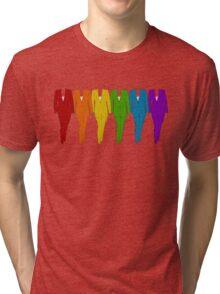 Rainbow of Pantsuits Tri-blend T-Shirt