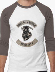 Sons of Anfield - Famous Fans, Brad Pitt Men's Baseball ¾ T-Shirt