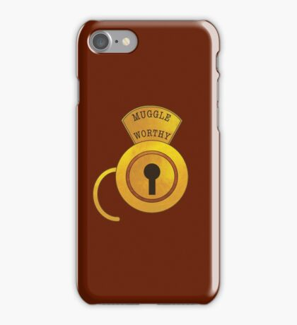 Muggle Worthy iPhone Case/Skin