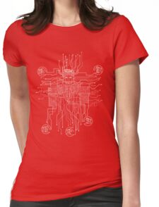 Voltron Conections Womens Fitted T-Shirt