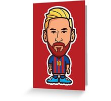 Lionel Messi, FC Barcelona Greeting Card