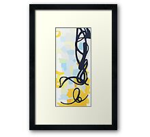 Street Art Graffitti Framed Print
